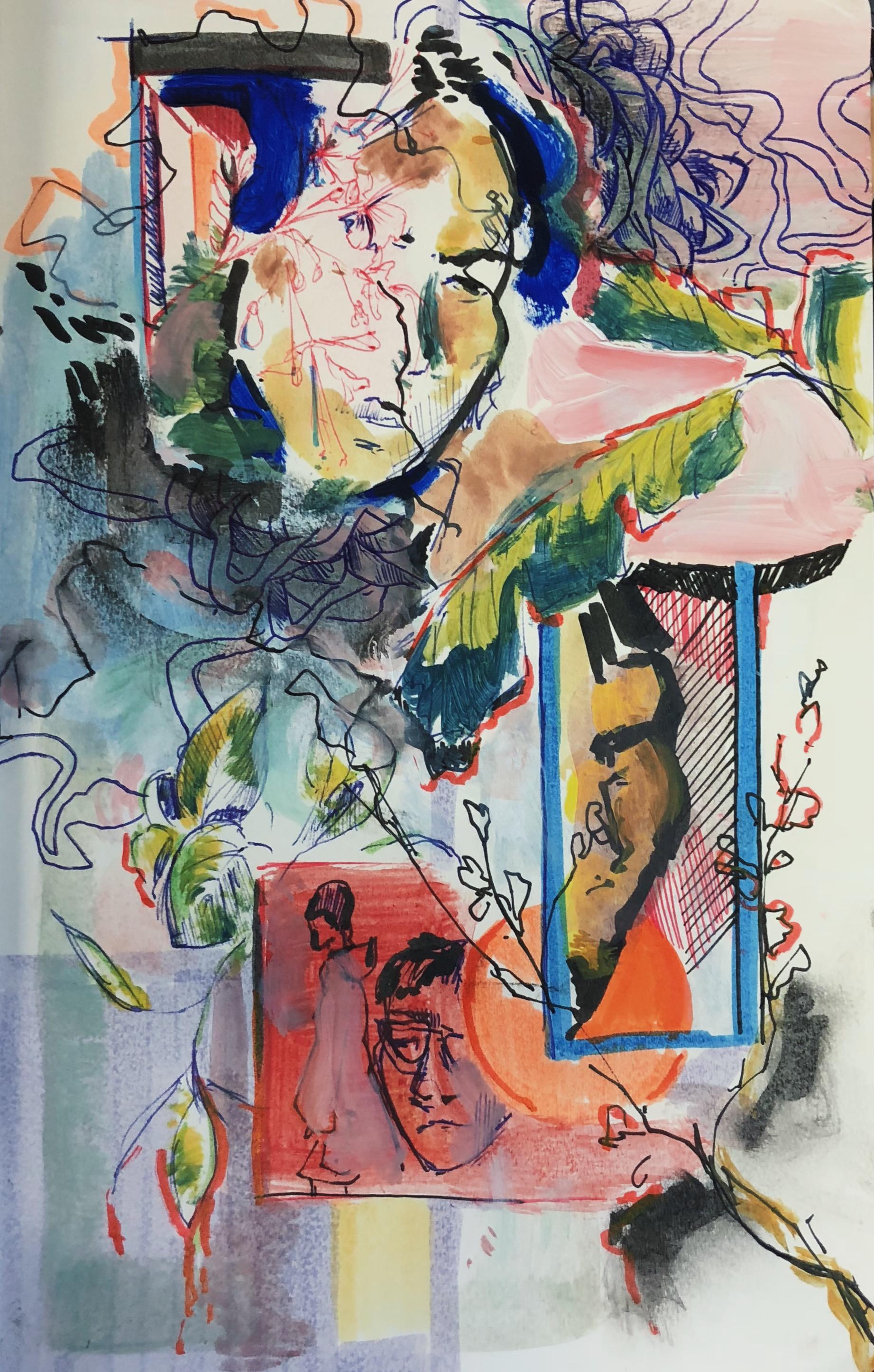 San Diego-based artist Esther Wang