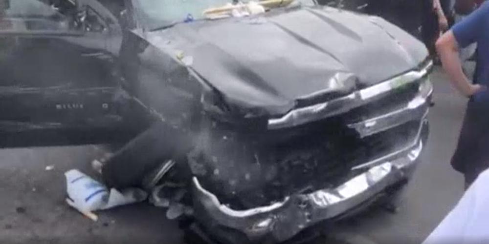 Road rage incident in Tijuana from U.S Citizen