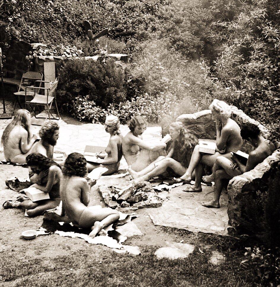 Balboa Park nudist colony