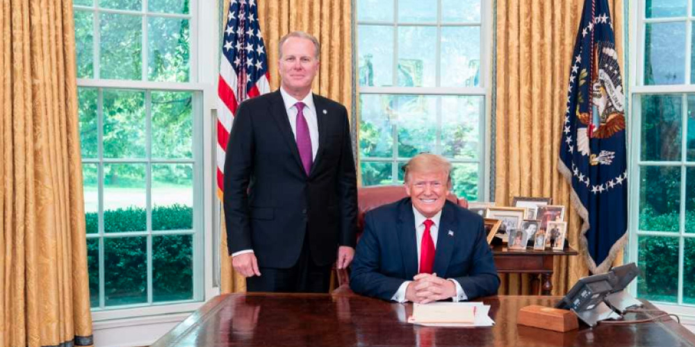 Mayor Faulconer and Donald Trump