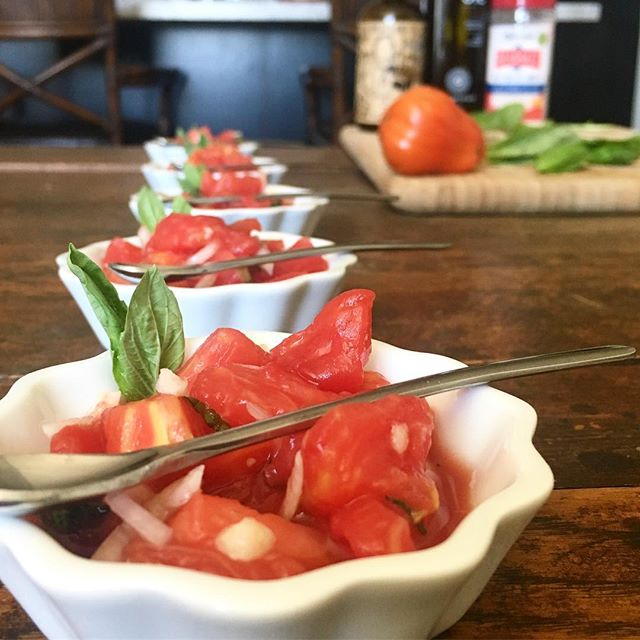 New favorite Summer RECIPE: 6 cups tomatoes cubed (about 6 large tomatoes 🍅 blanched, peeled, deseeded), 1/2 cup thinly sliced sweet onion, 1/4 cup @firecider_ (known to cure hangovers!), 2 Tablespoons @cobramestate cold-pressed olive oil, 3 garlic cloves minced, 10-16 basil 🌿 leaves julienned (thin slices), 3/4 teaspoon @redmondrealsalt, 1/4 teaspoon stevia powder, black pepper optional. Marinate and chill for at least one hour but overnight is better. . . . . #thejennifermac#jennifermac#deliciouslyhealthy#bedeliciouslyhealthy#detoxdelish#therightblend#realsalt#detoxdelish#buzzfeedhealth#buzzfeedfood#gloobyfood#feedfeed#thefeedfeed#firecider#valuetainment#rawfoodcuisine#rawfooddiet#rawfoodrecipe