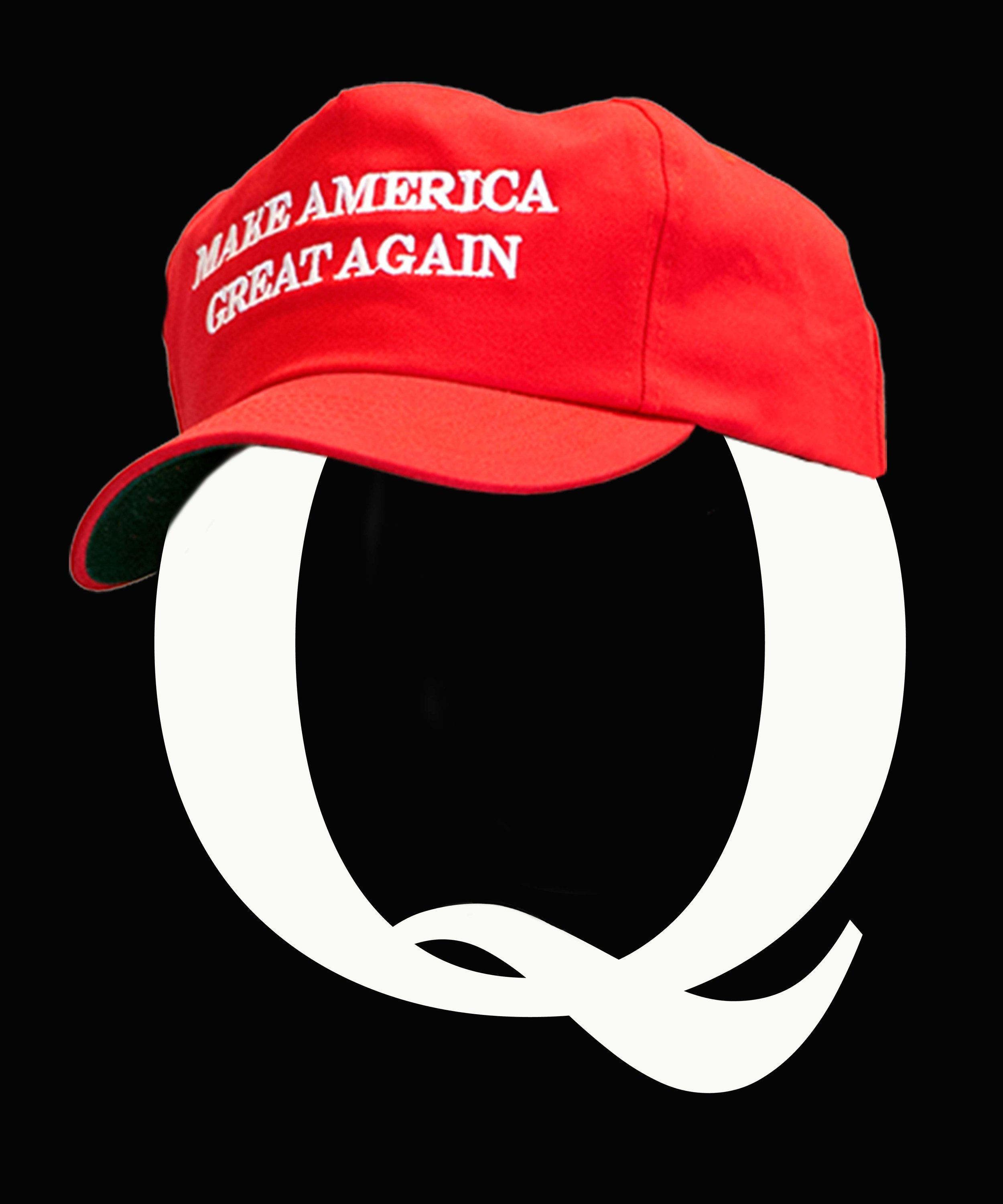 Q MAGA HAT black background.jpg