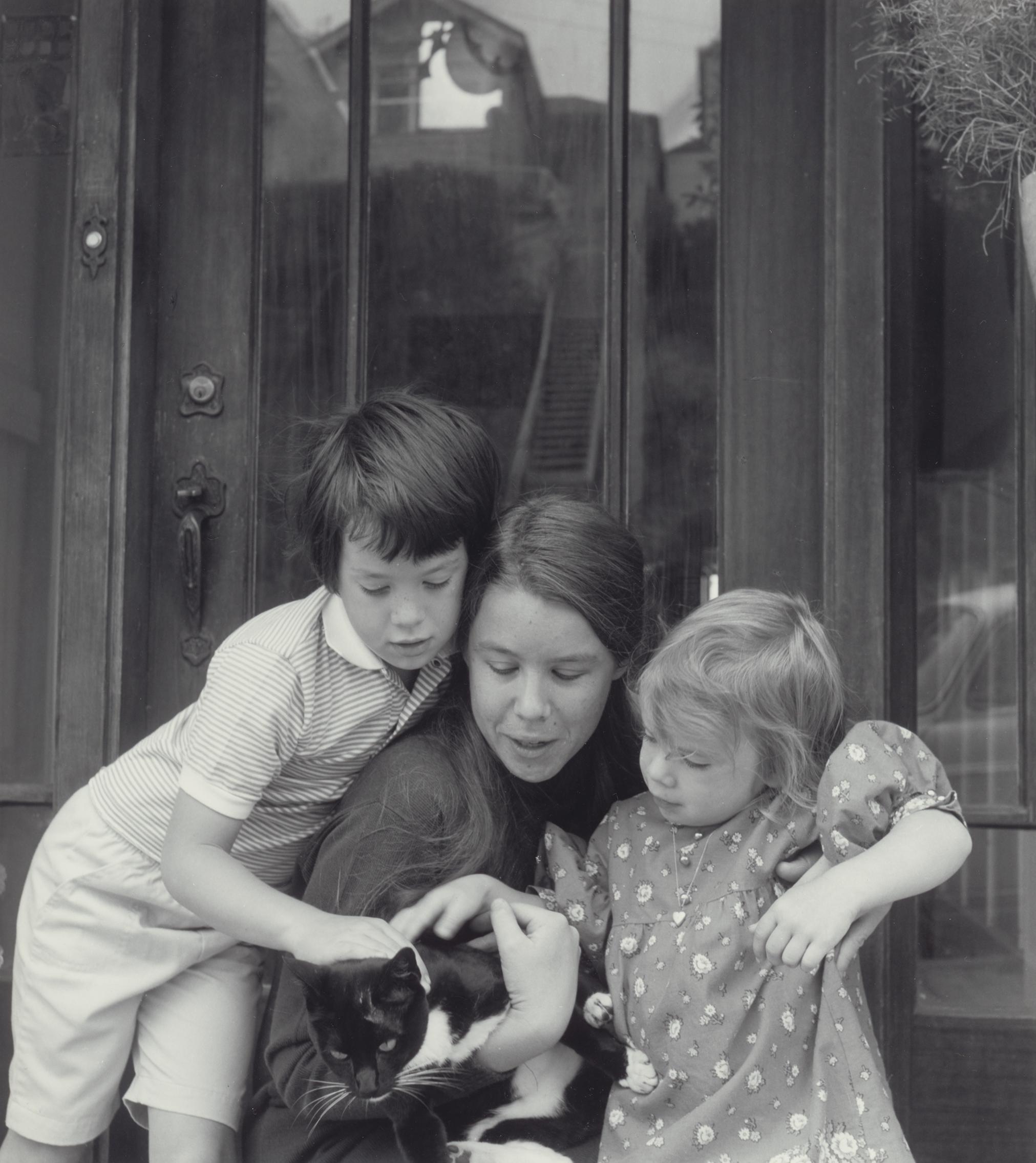 Kate Max Hannah Cat circa 1969.png
