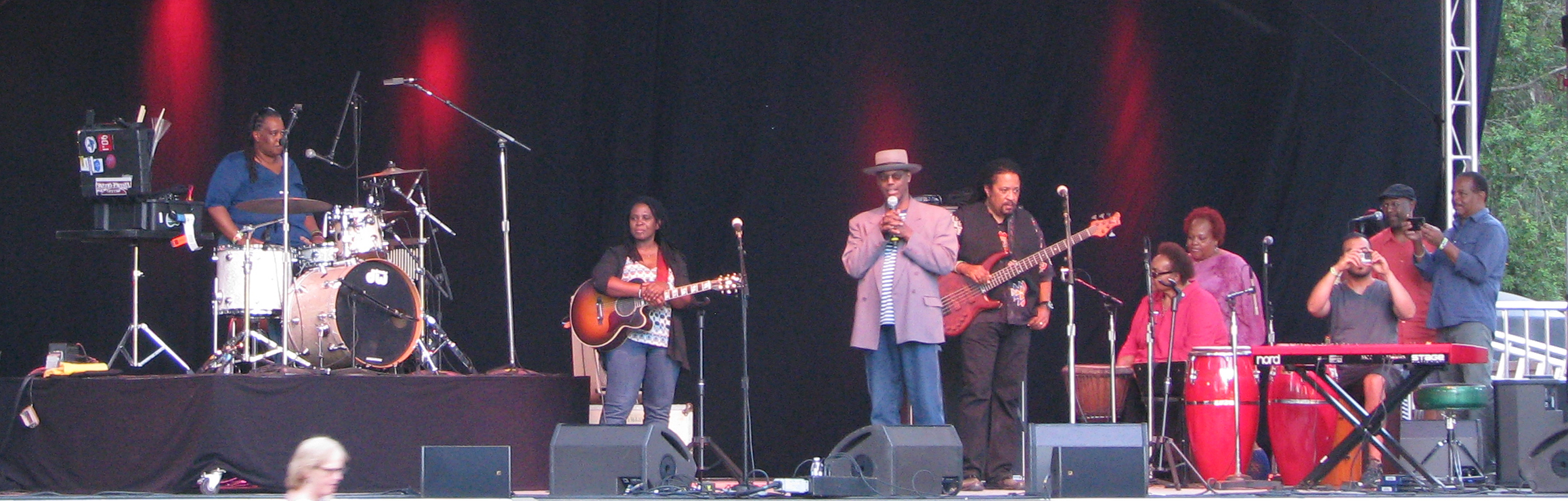 Linda Tillery & The Cultural Heritage Choir with guests Ruthie Foster and Eric Bibb