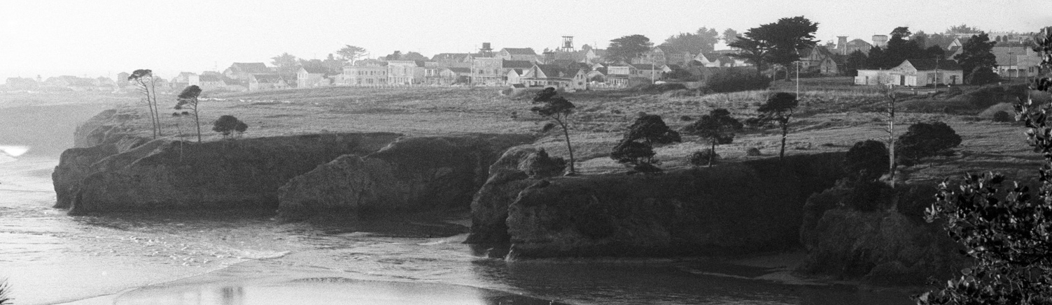Mendocino in the 1970s. Photo by Nicholas Wilson.