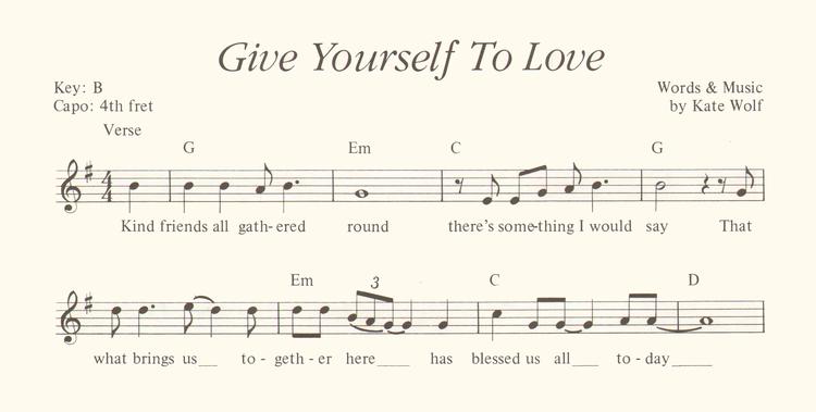 Sample Sheet Music Page