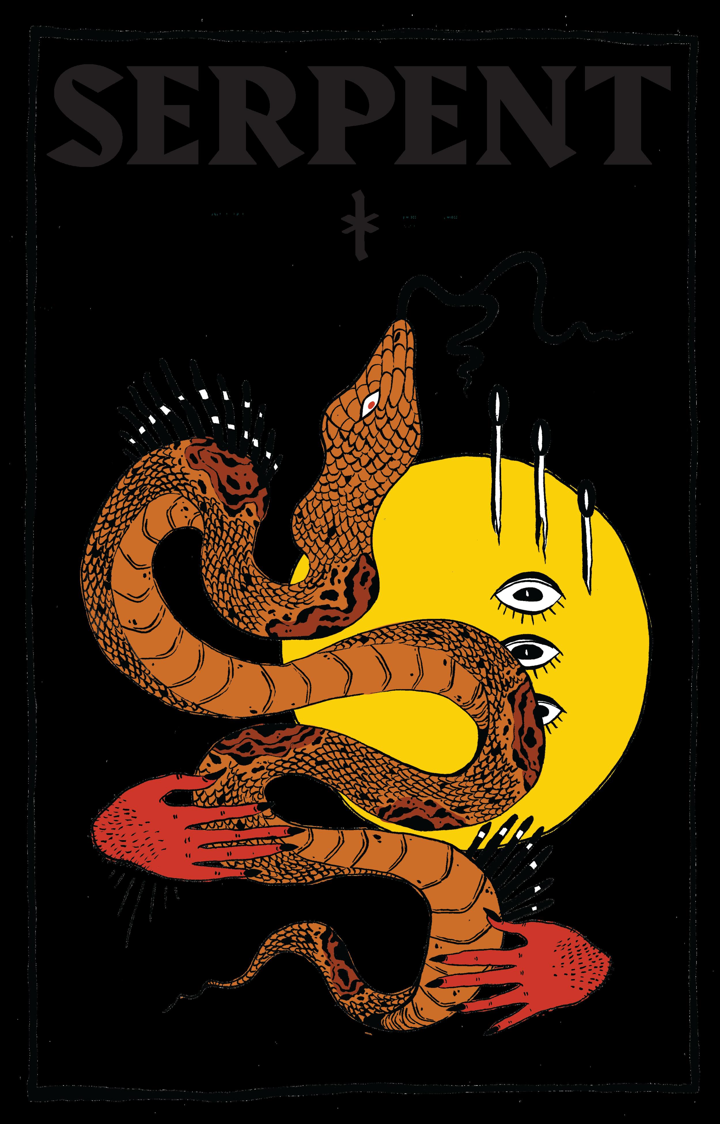 Serpent #6 Postcard