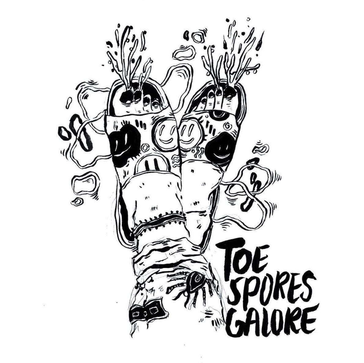 Toe Spores Galore