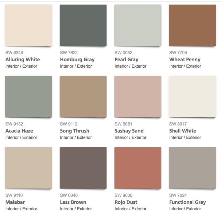 2018 Paint Color Predictions Amanda Scroggins