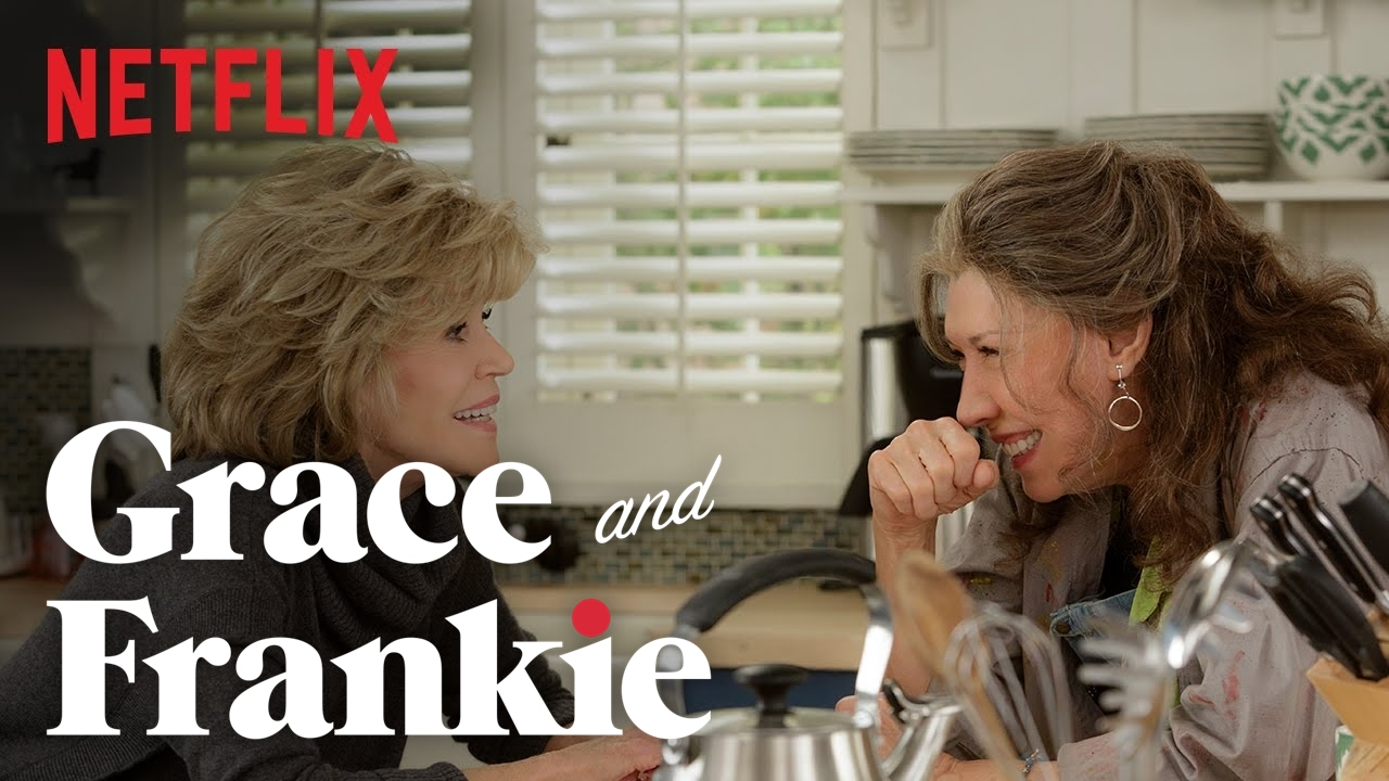 Grace and Frankie - With their ex-hubbies now married to each other and their clans more integrated than ever, they continue to struggle to make sense of the brave new world.