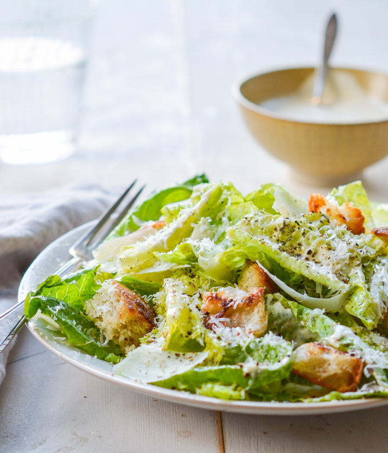 Homemade Caesar Salad Dressing from Once Upon A Chef