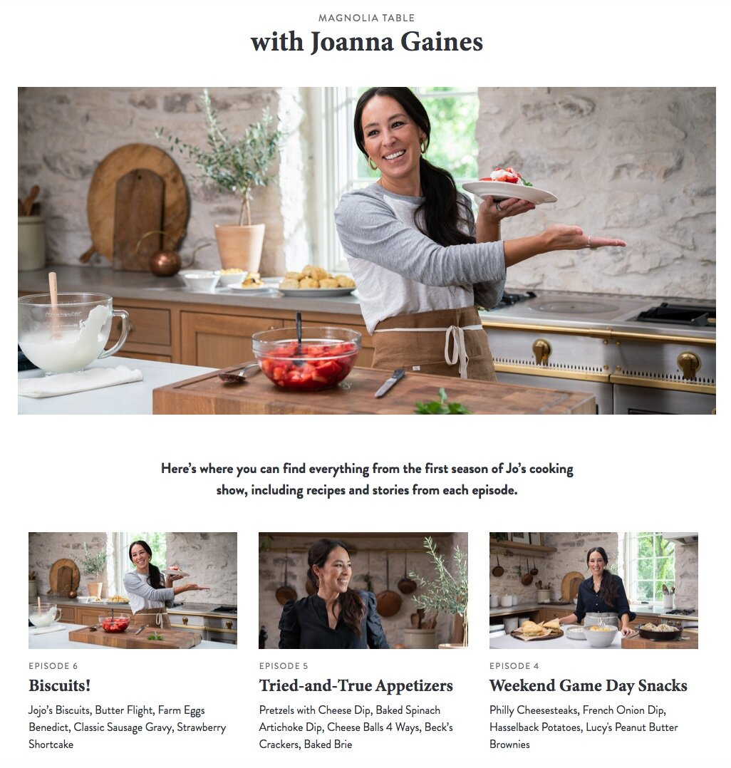 A Beautiful New Cooking Series Amanda Scroggins