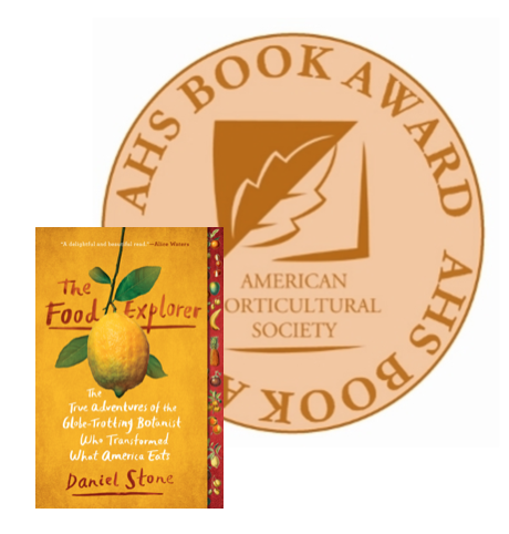 AHS Food Explorer book award