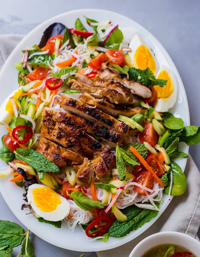 Rice Noodle Salad with Vietnamese Grilled Lemongrass Chicken.jpg