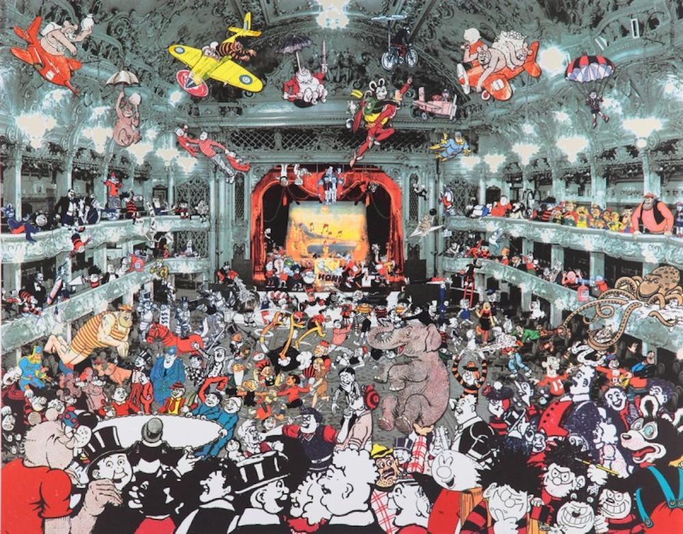 Marcel Duchamp's World Tour- DC Thomson Reunion at the Tower Ballroom, Blackpool