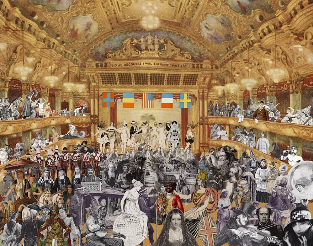 Marcel Duchamp's World Tour- New Year's Eve Parade at the Tower Ballroom, Blackpool
