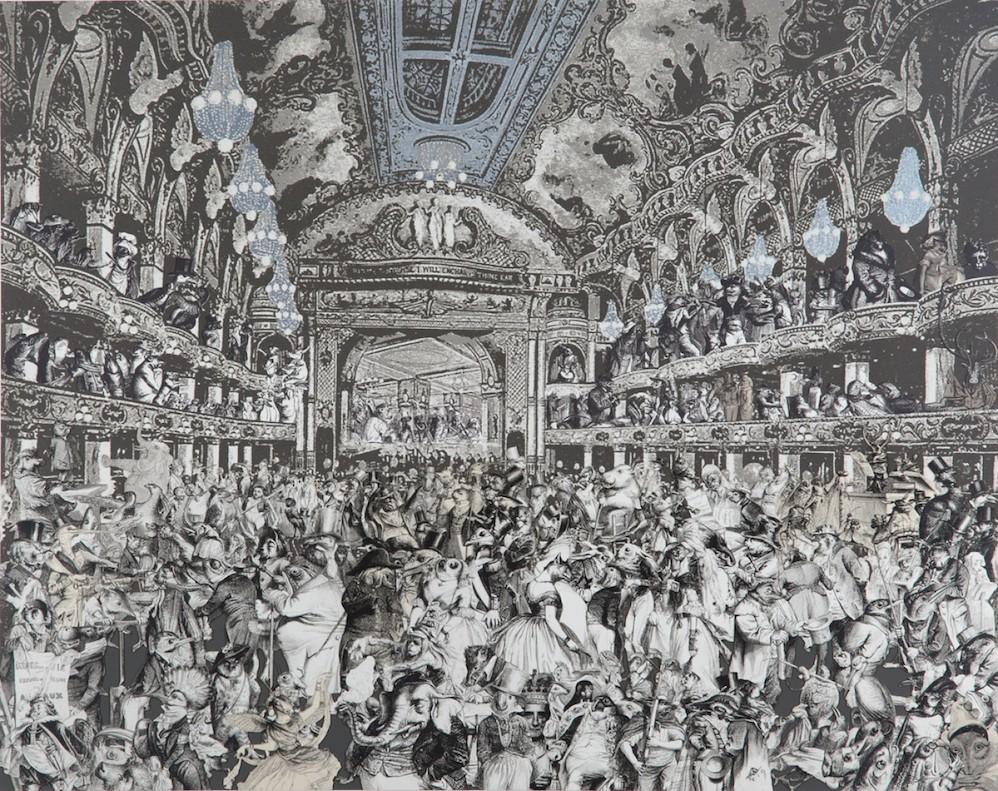 Marcel Duchamp's World Tour- The Animals' Fancy Dress Ball at The Tower Ballroom, Blackpool