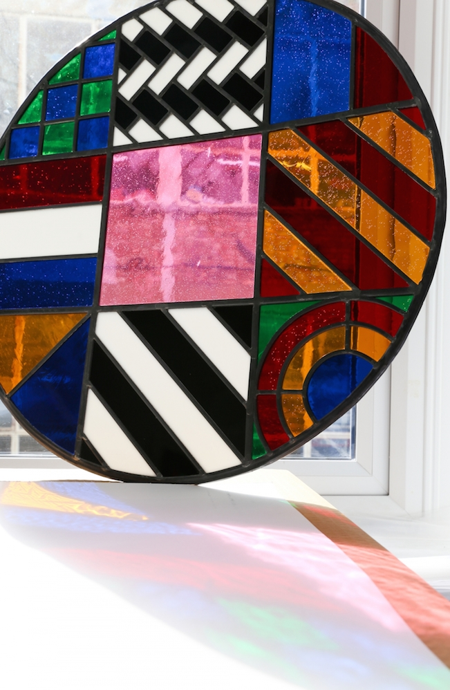 Dazzle Disc Stained Glass (Large)