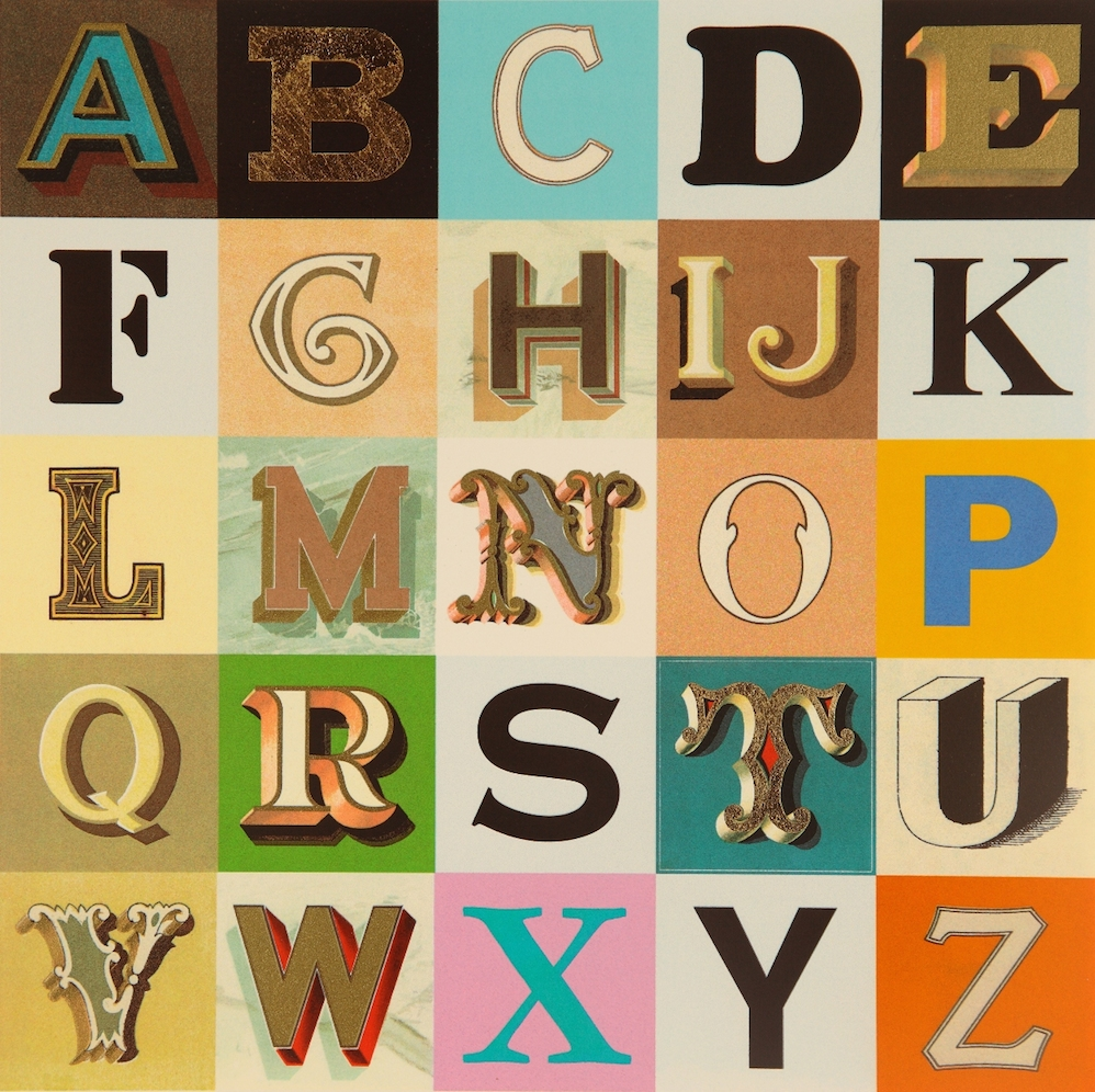 Appropriated Alphabet 9