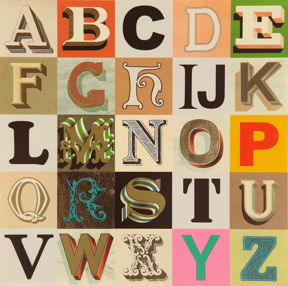 Appropriated Alphabet 7
