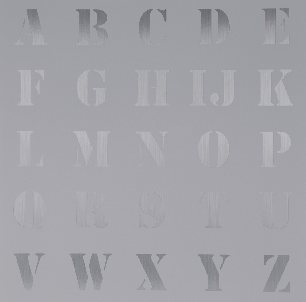 Appropriated Alphabet 5