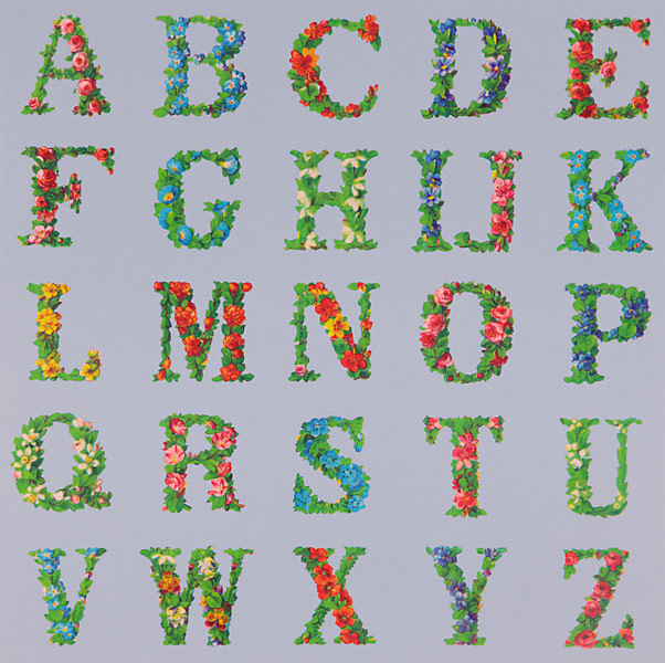 Appropriated Alphabet 8