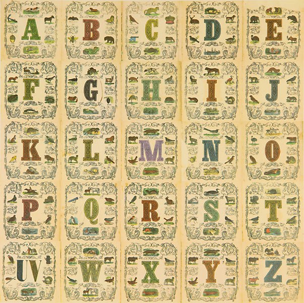 Appropriated Alphabet 11