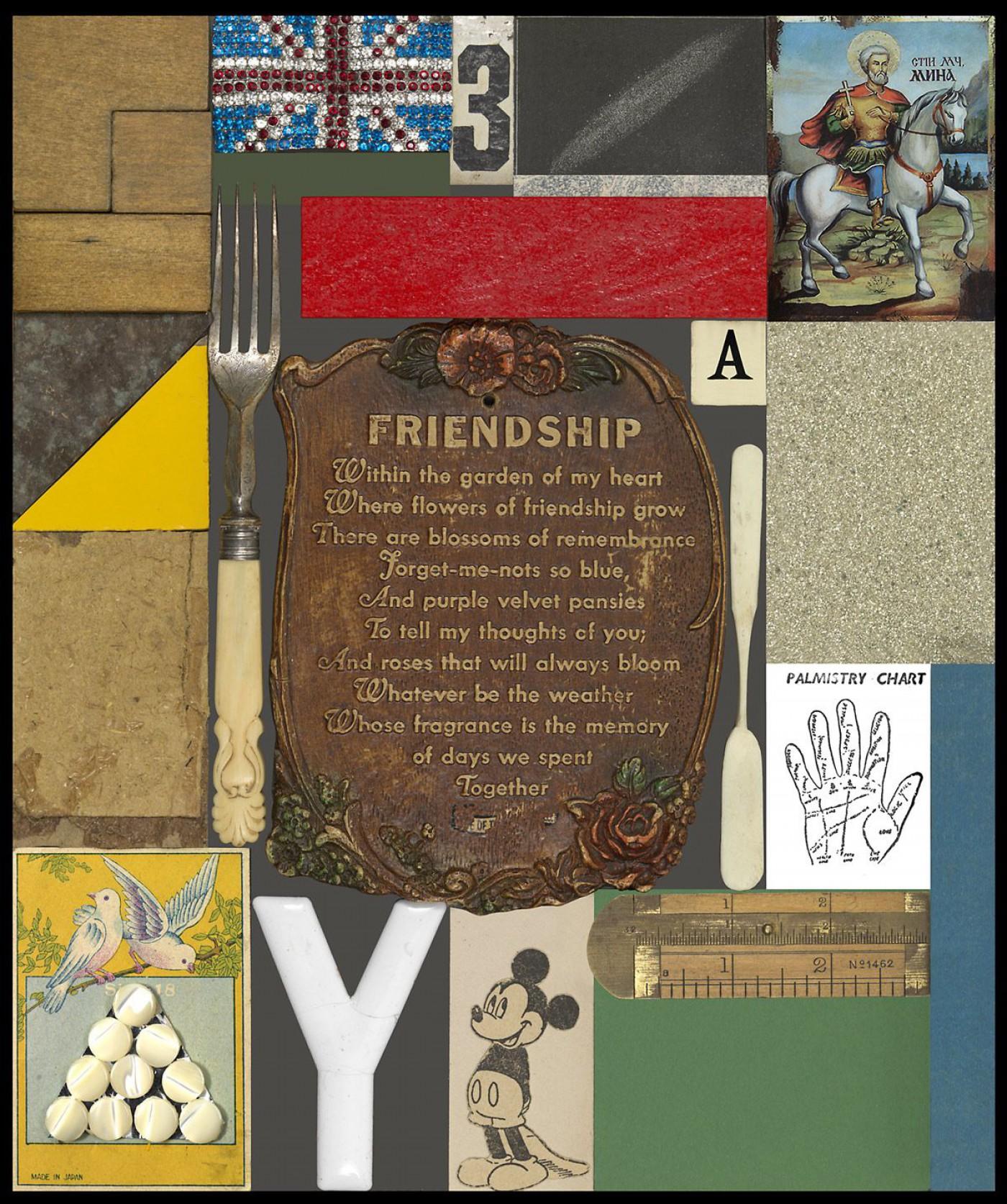 Wooden Puzzle Series - Friendship