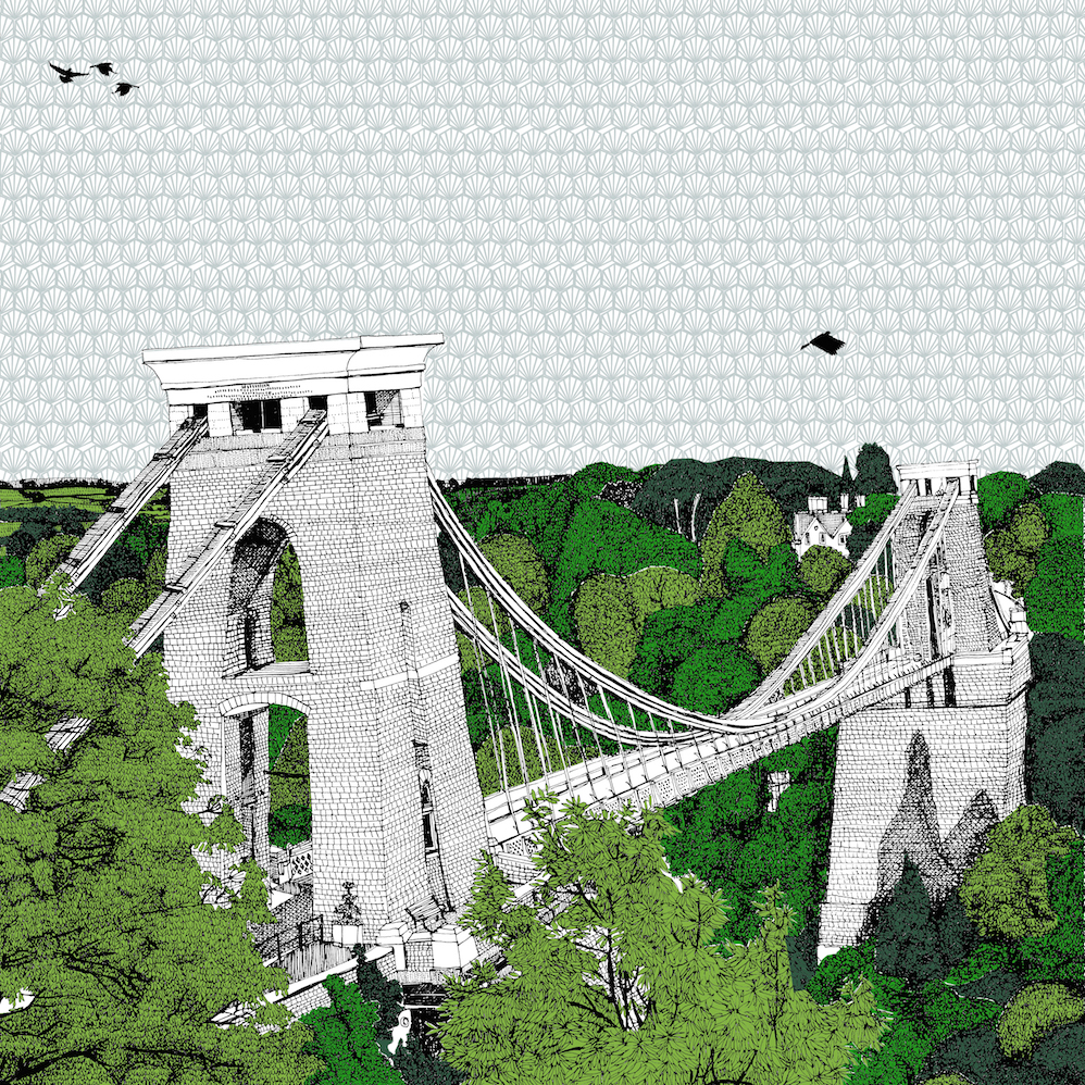Crossing Clifton Bridge