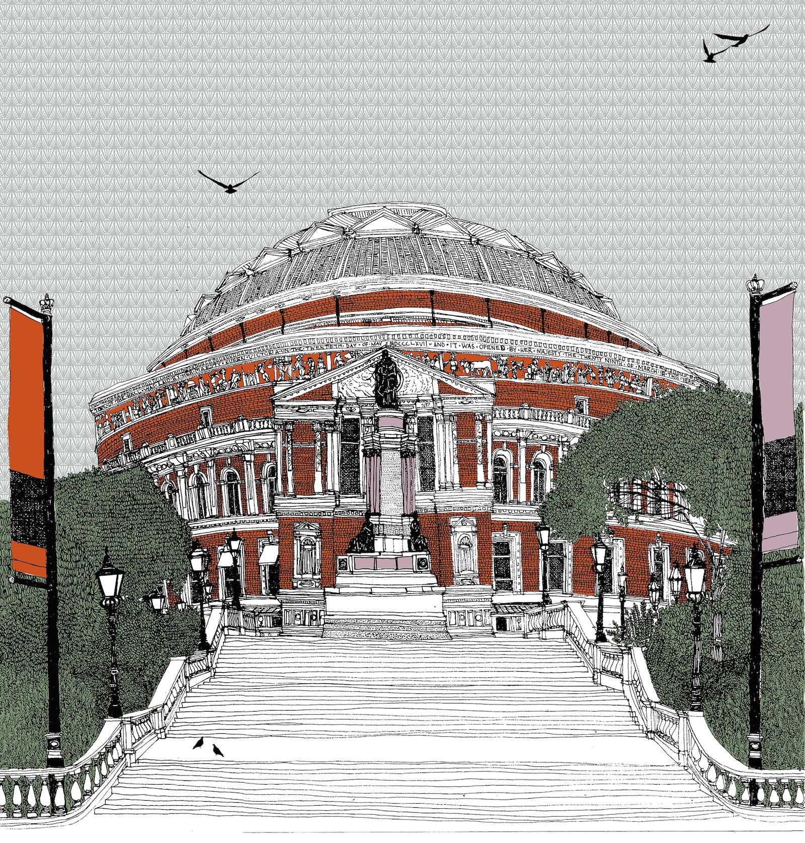 Stairway to Royal Albert Hall