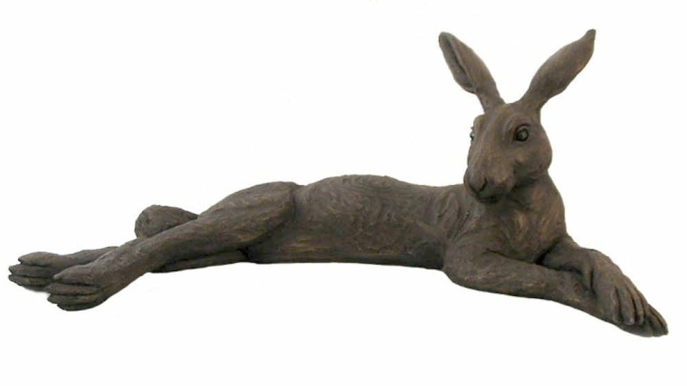 Large Reclining Hare