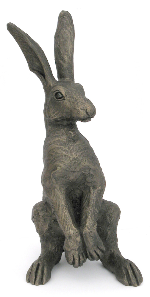 Small Upright Alert Hare
