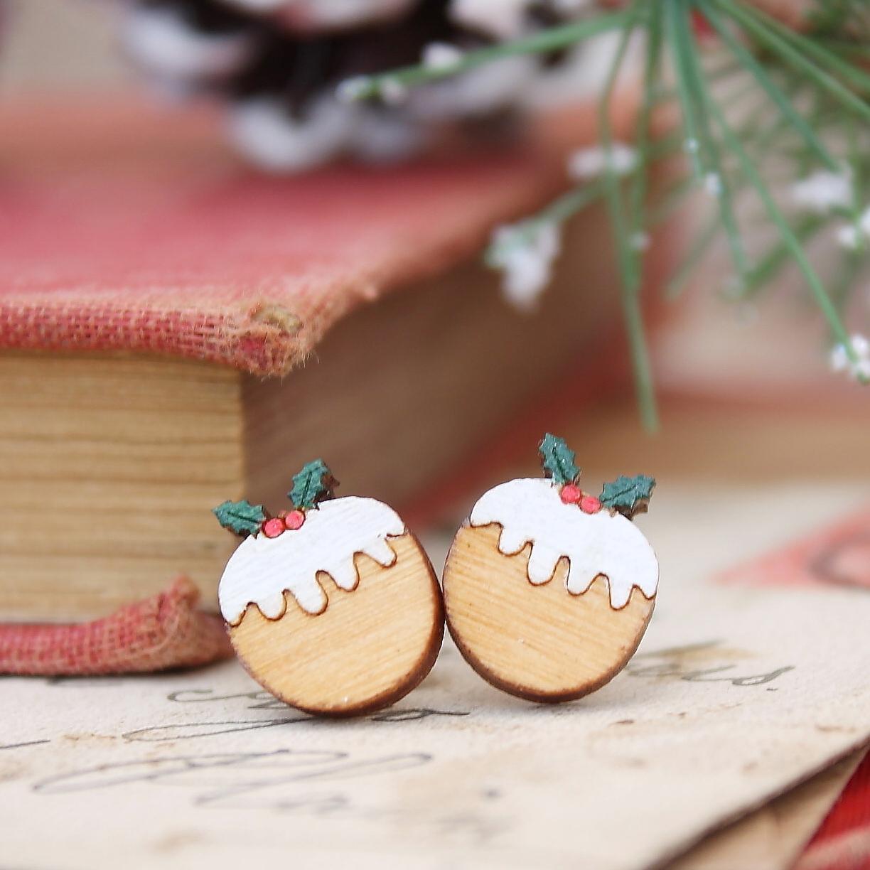 Christmas Pudding Studs