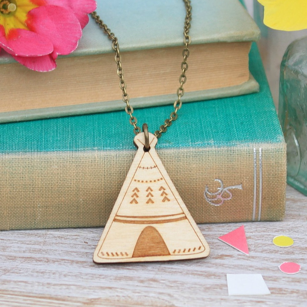 Teepee Necklace