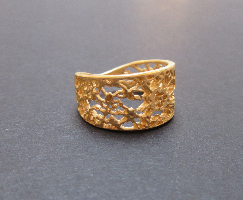 Gold Lace Ring