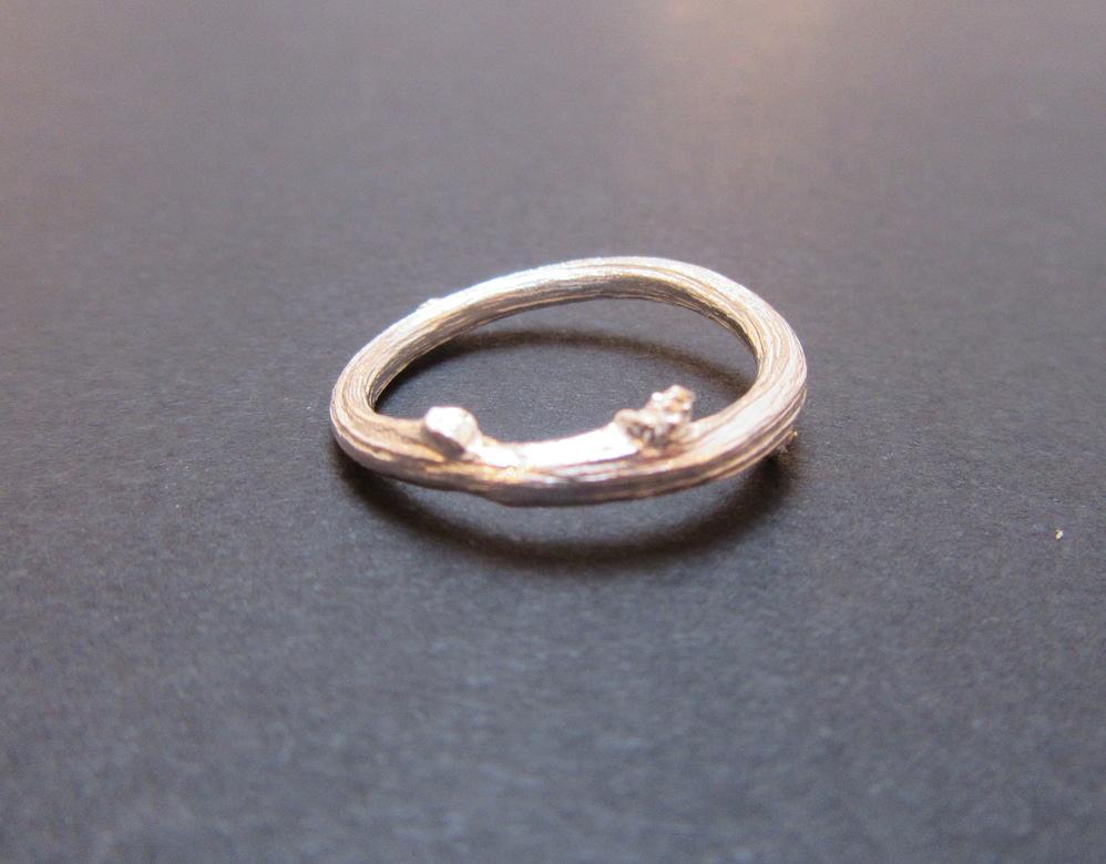 Silver Briar Ring