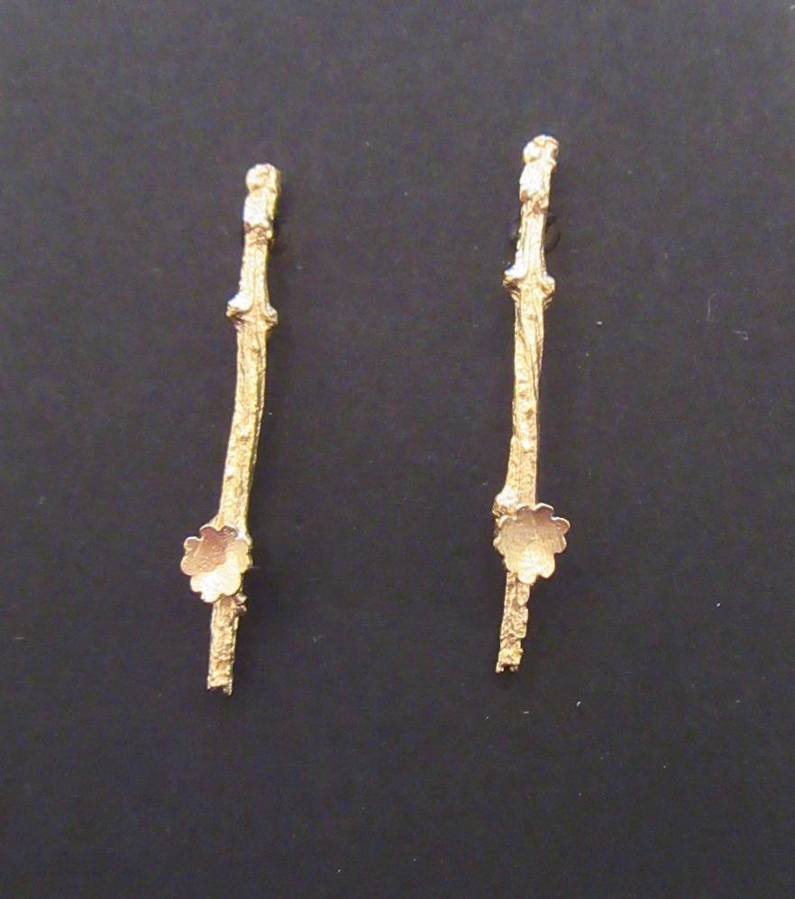Gold Briar Branch Studs