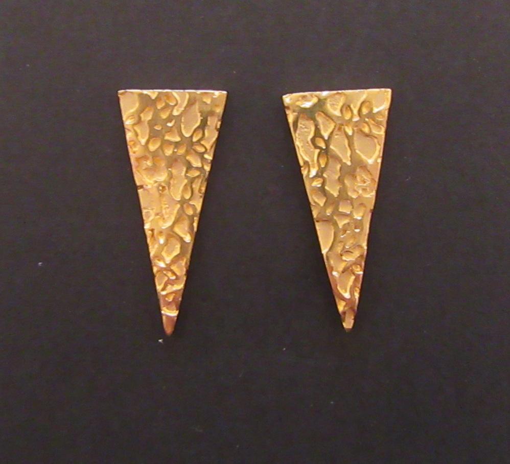 Gold Regal Earrings