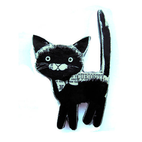 EllyMental, Black Cat brooch