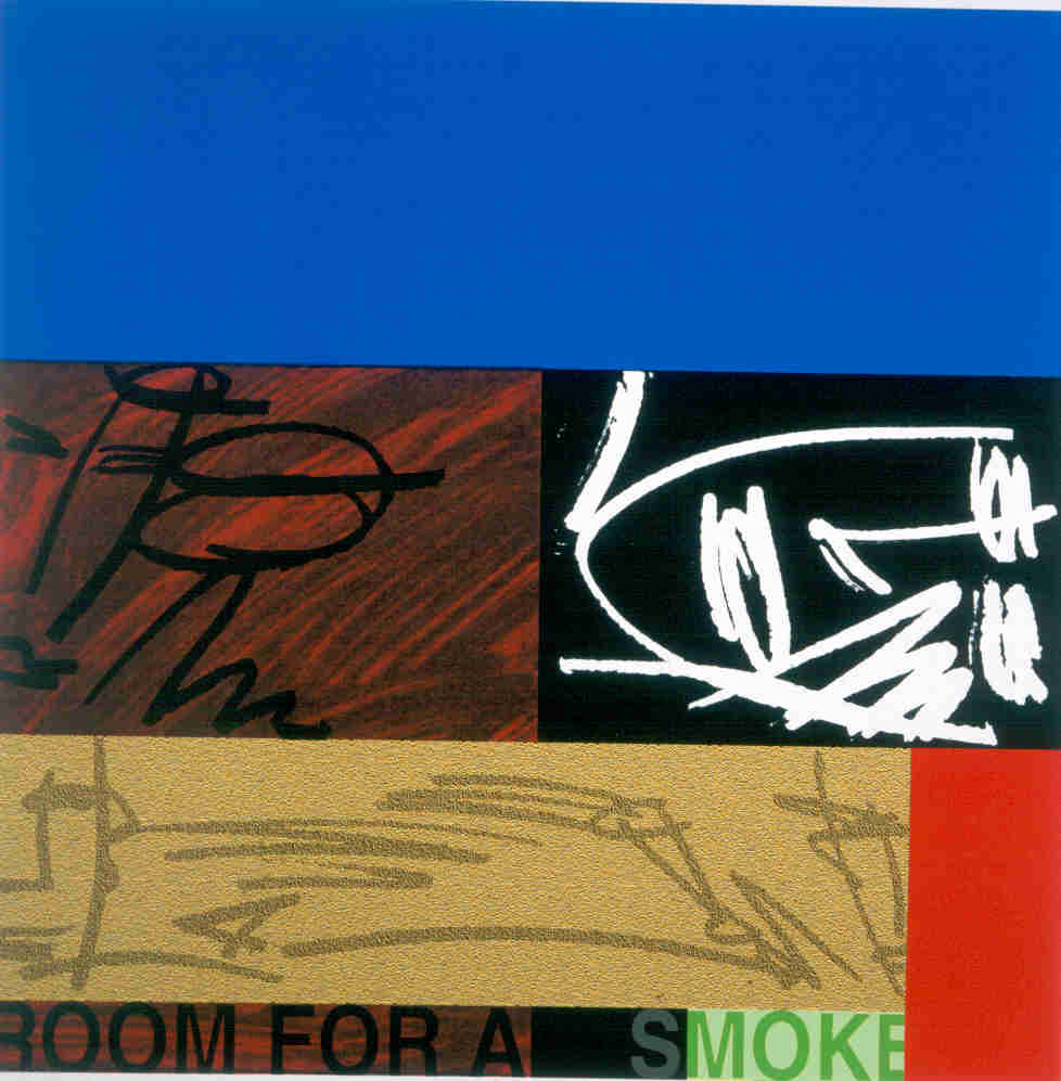 Room for a smoke, Bruce McLean
