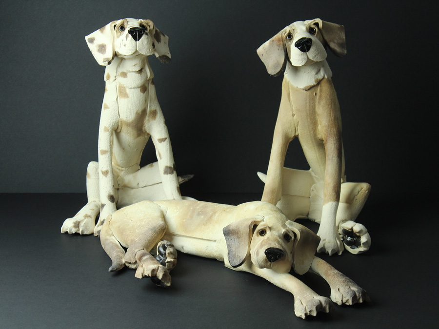 Virgina Dowe-Edwards | Dogs Ceramic | from £230