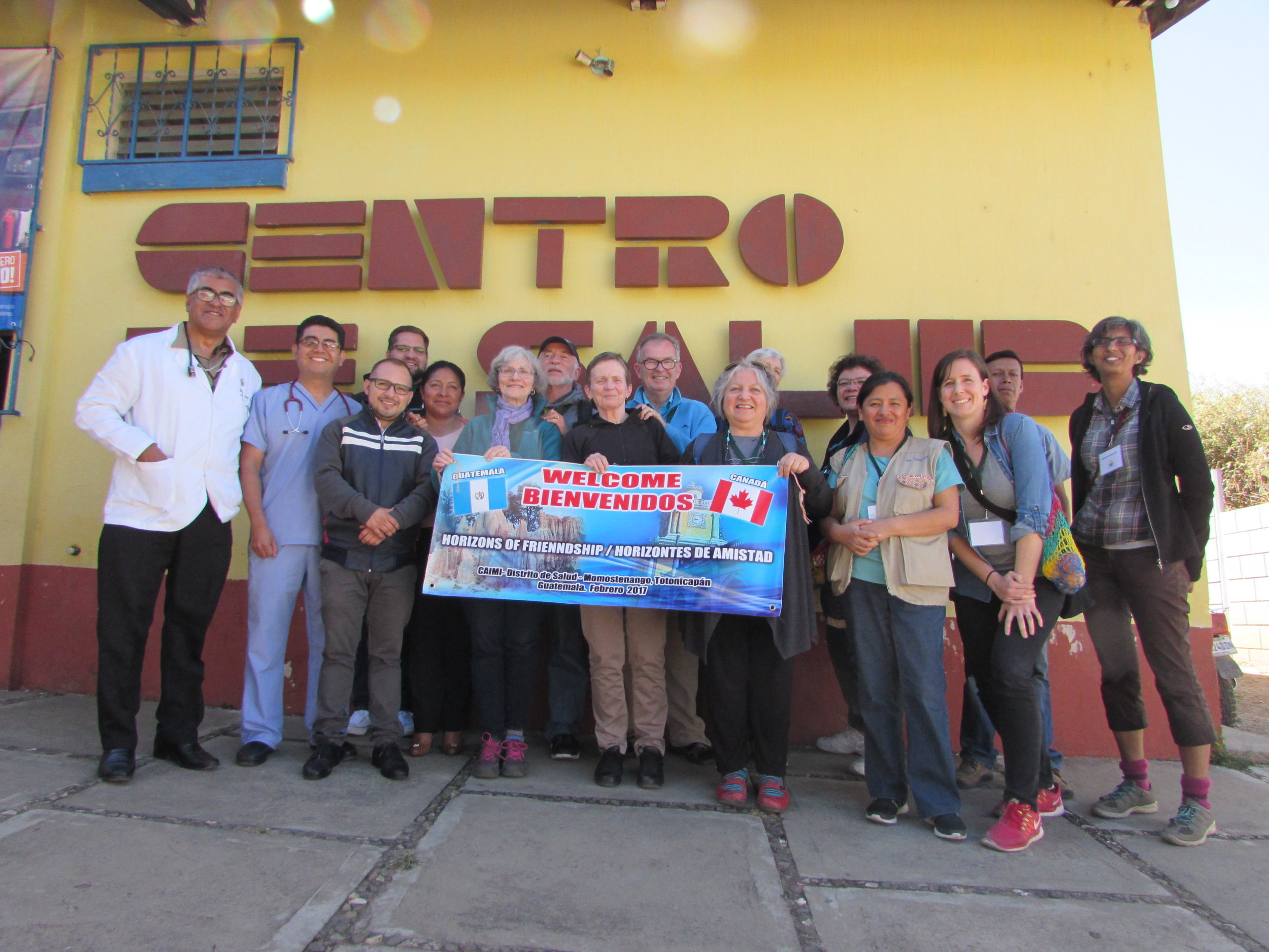 When you join Horizons' Educational Tour group (like this one in Guatemala last February) you get to see firsthand the work you are supporting.