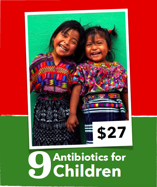 Providing better nutrition and health care are two of the central aims of the Maternal, Newborn and Child Health (MNCH) Project . Today your donation will help provide life-saving antibiotics for Indigenous Maya-K'iche' children to help treat pneumonia.