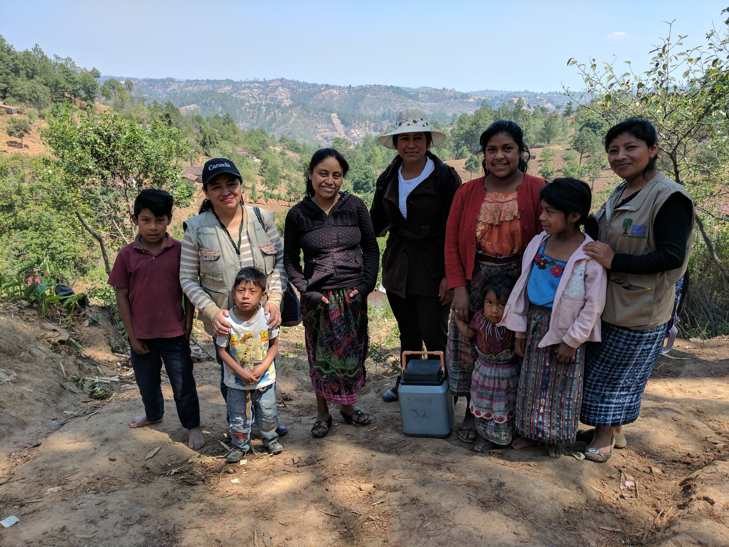 PIES Health Educators visit Indigenous families in some of the most remote and rural communities of the Department of Totonicapán to provide workshops and personal counselling on women's and children's health, including their rights to a life free of violence.