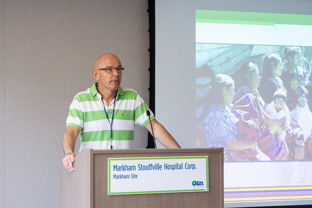 Dr.  Robert Hall , a recent Canada-to-Guatemala knowledge exchange participant with Horizons, assisted in organizing the event at  Markham Stouffville Hospital .