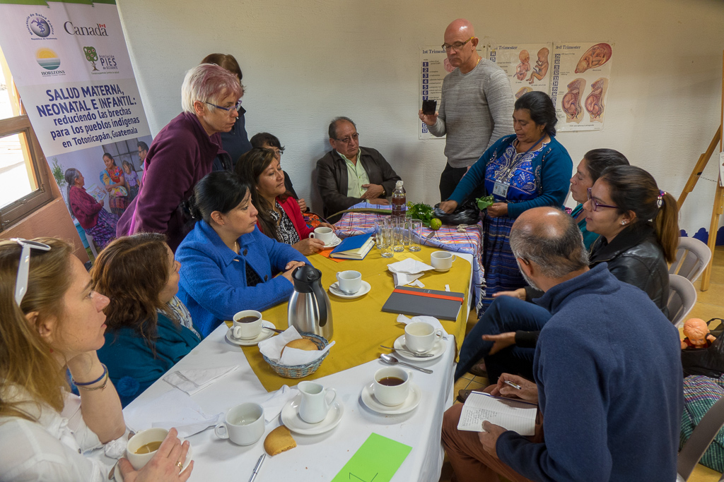 Workshops and meetings will be held between the Canadians and PIES de Occidente, traditional Indigenous midwives and Guatemalan Ministry of Health workers.