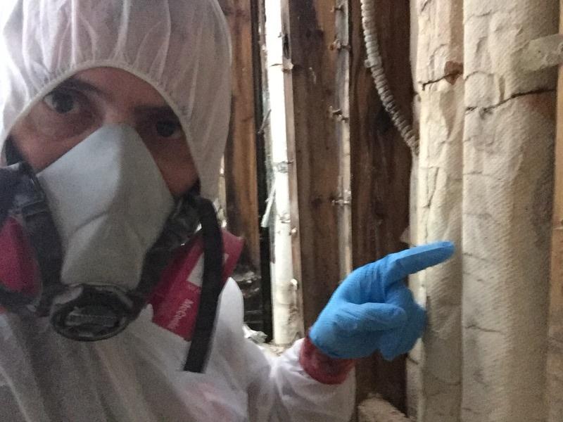 De l'amiante a été détecté dans l'isolant d'un tuyau lors d'une rénovation effectuée récemment.