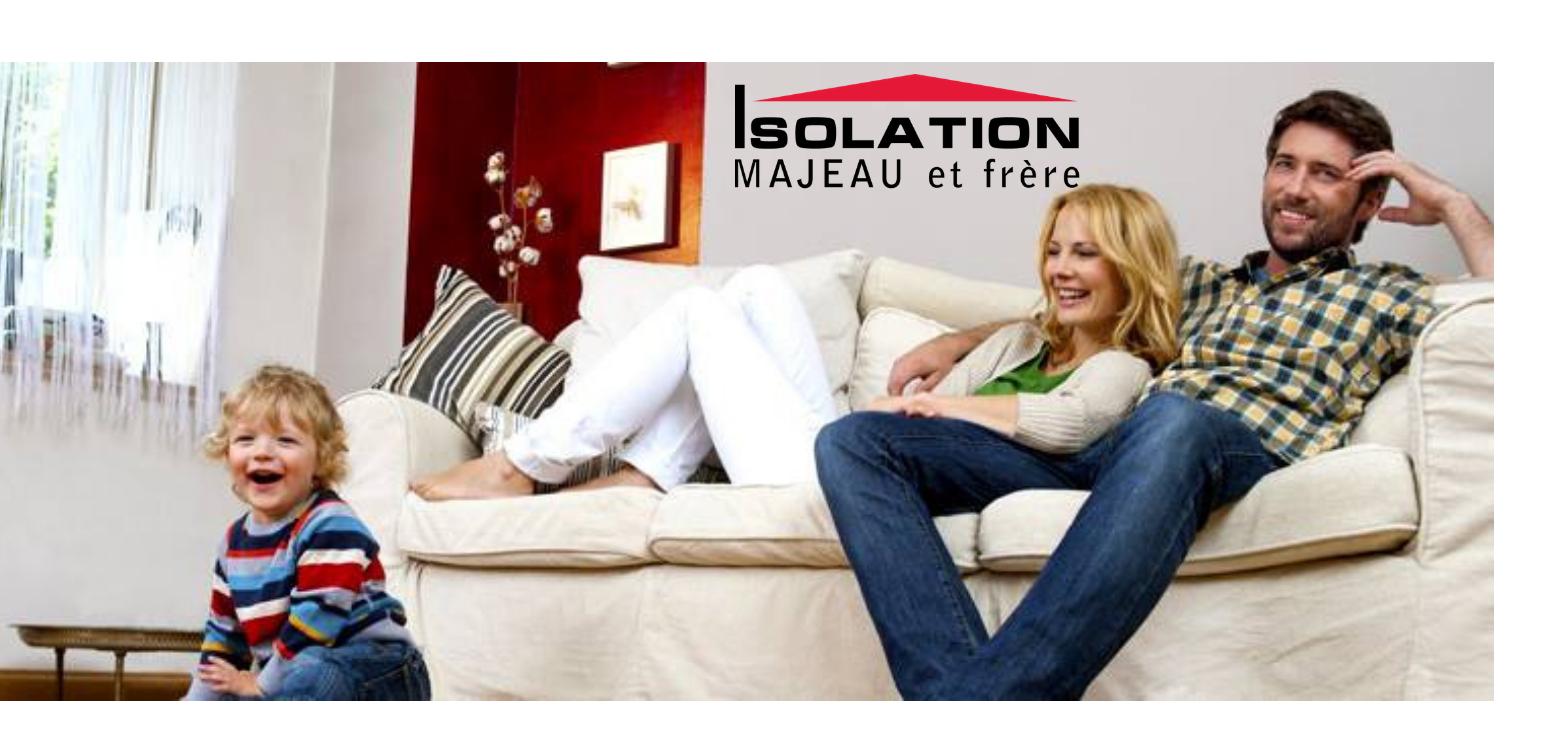 Isolation Majeau et Frère - La référence en isolation thermique au Québec! Montréal, Laurentides, Lanaudière et la Montérégie!Visitez leur site web: https://www.isolationmf.com/fr/index.html