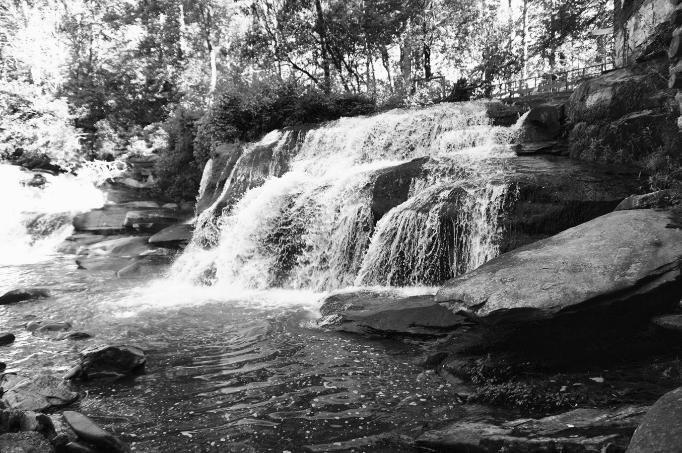 Mills Shoals Falls, Brevard, NC is one of many beautiful places in the Carolina mountains. See the video    Connections In Nature    that features my paintings and their inspirations on this site.