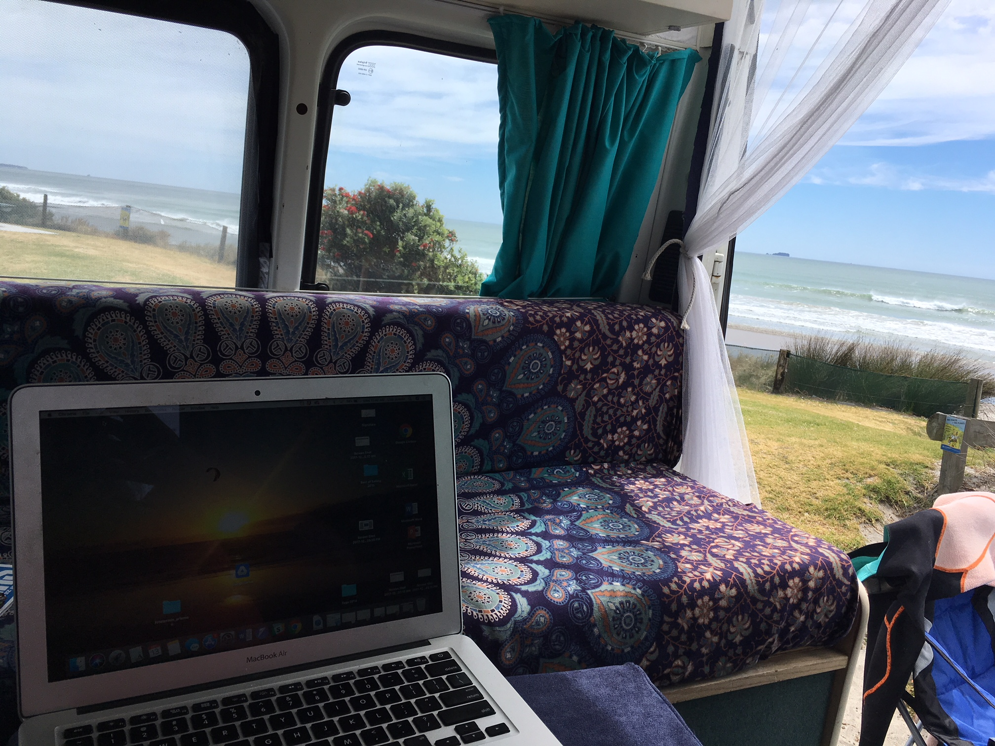 Working from my office with a view :)